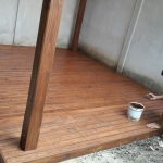 Pintar deck madera maimsa