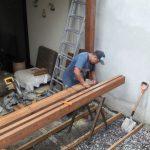 construir techo madera